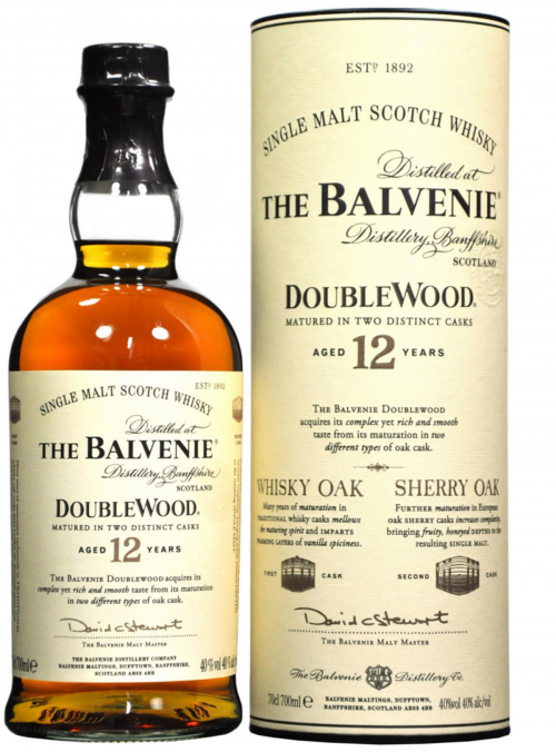 Whisky Balvenie 12 Y.O. Doublewood