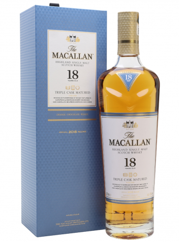 Macallan Fine Oak 18 Years Old Highland