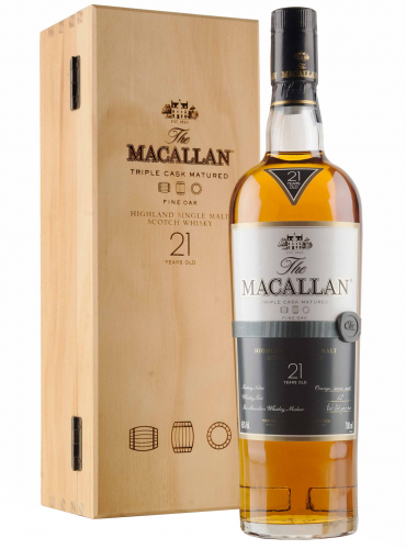 Macallan 21 Y.O. Fine Oak Single Malt Whisky