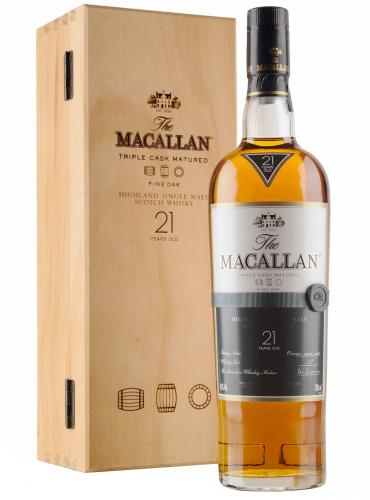 Macallan 21 Y.O. Fine Oak Single Malt Whisky