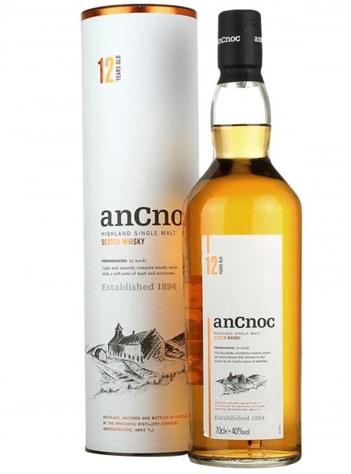 Whisky Ancnoc 12 YO