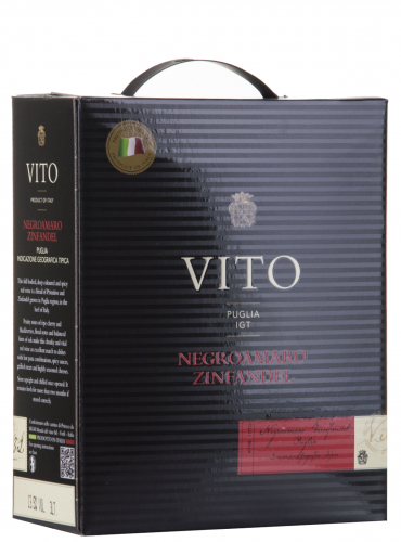 Negroamaro Zinfandel Bag in Box