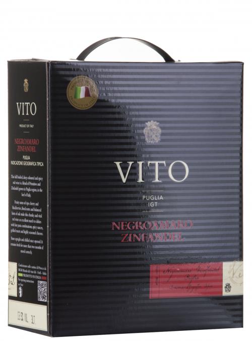 Vito Negroamaro Zinfandel Winebox