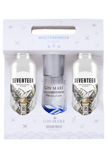 Gin Mare e Seventeen Mini Duo Pack