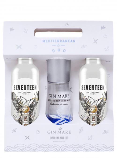 Gin Mare e Seventeen Mini Duo Pack