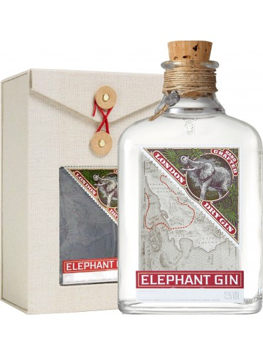 Elephant London Dry Gin gift box