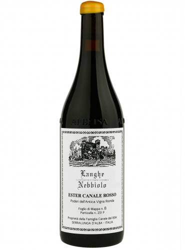 Langhe Nebbiolo Ester Canale Rosso