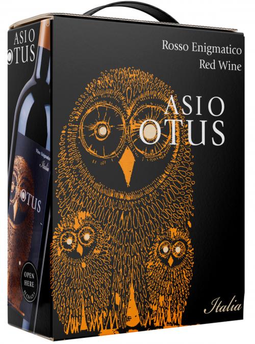 Asio Otus Rosso Enigmatico