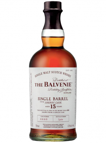 Whisky Balvenie 15 Y.O. Single Barrel Sherry Cask