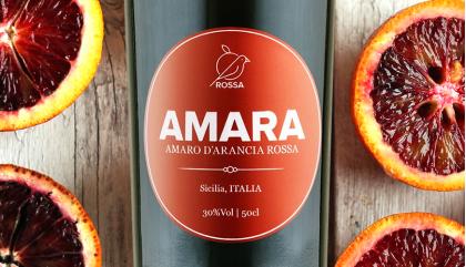 Amara Rossa, il liquore all'arancia da mixare ai tuoi cocktail