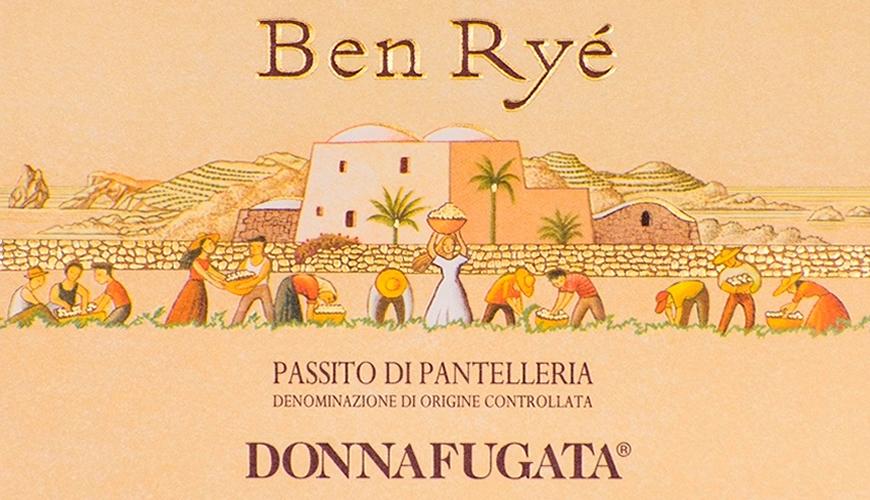 Passito di Pantelleria DOC Ben Ryè 2017 Donnafugata